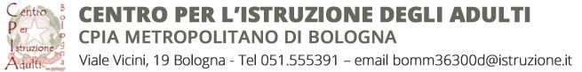 CPIA Metropolitano di Bologna Logo